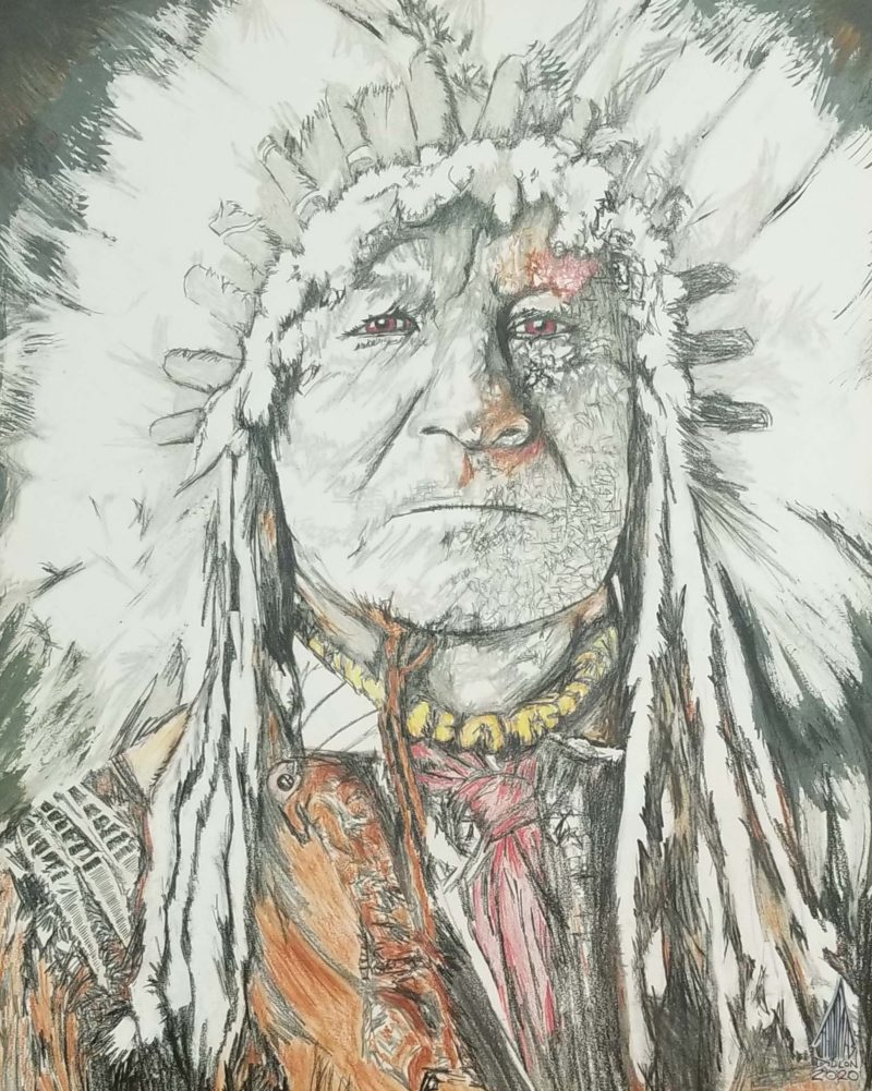 Chief Santank, Quiet Sitting Bear - Dillon
