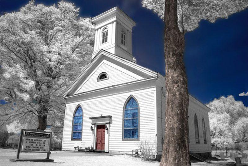 Church Scene - Samet