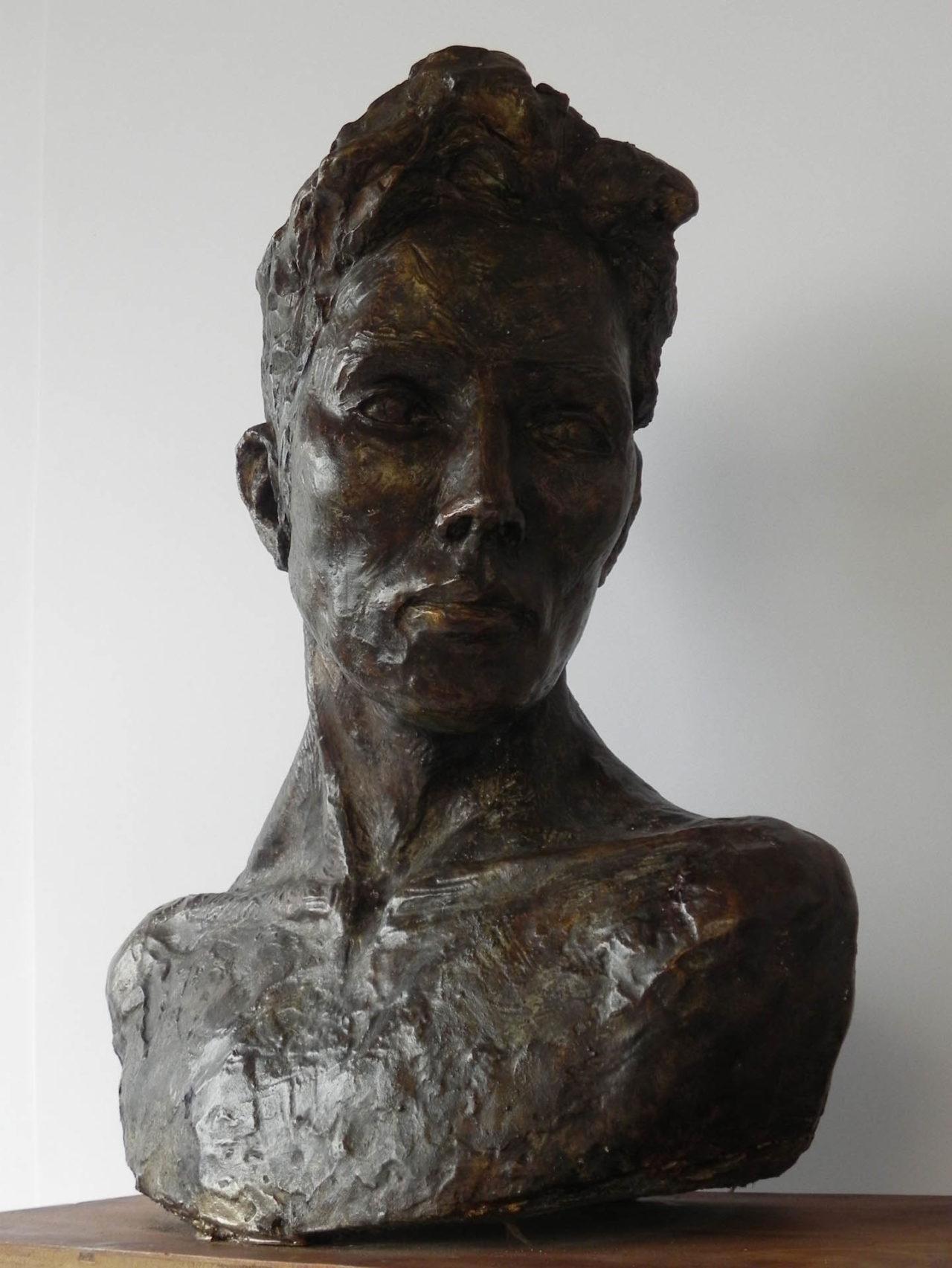 Male Bust - Donna McCartney