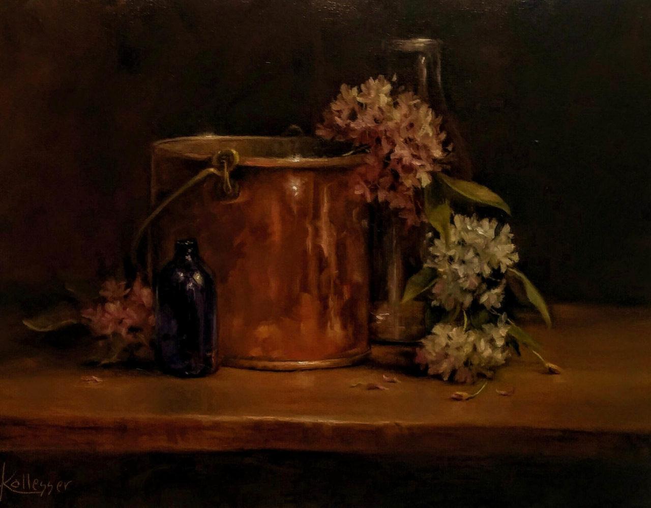 Copper Pail - Donna Kallesser