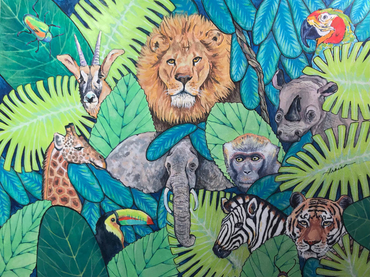 Protect Our Wildlife - Iraina Caramelli