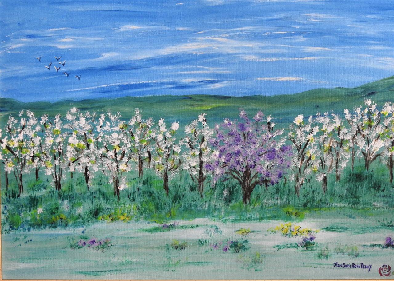 Ah, Spring!! - Jean Marie Perry