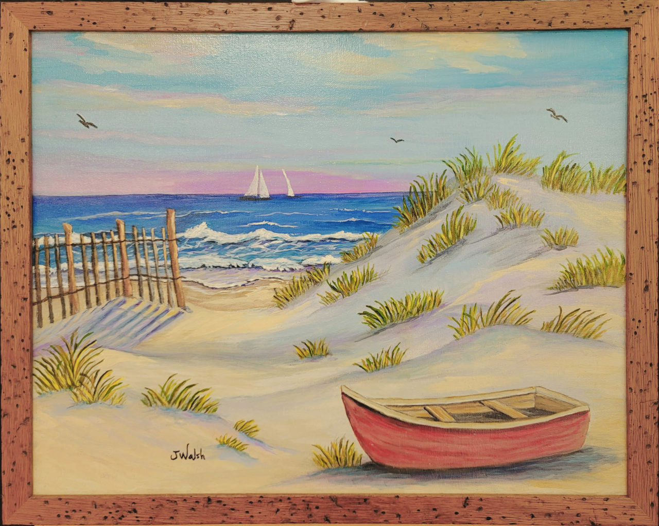 Sailing Near the Dunes - Judy Walsh
