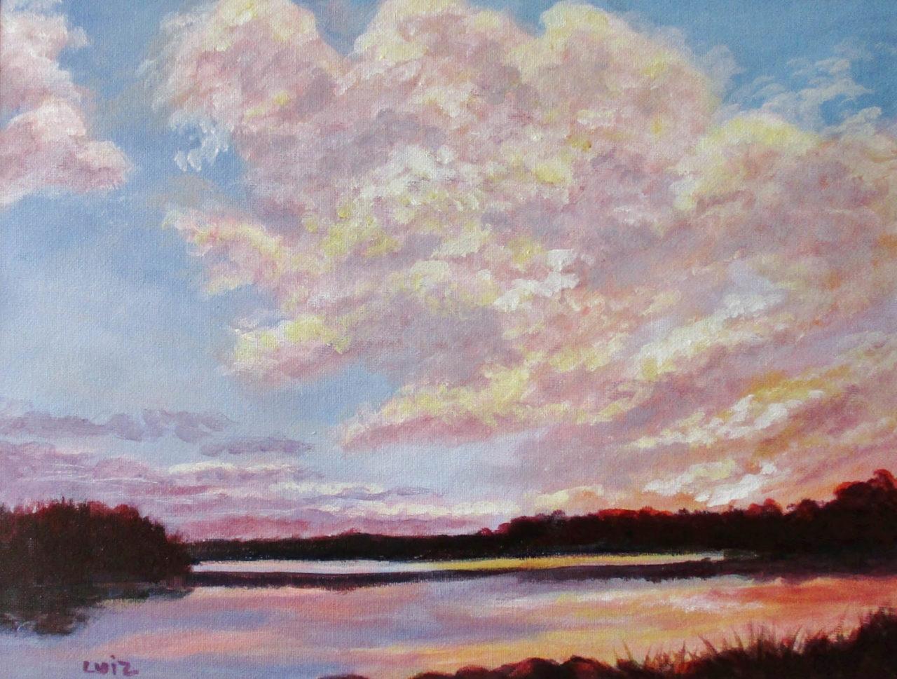 Just About Sunset - Kathleen Luiz