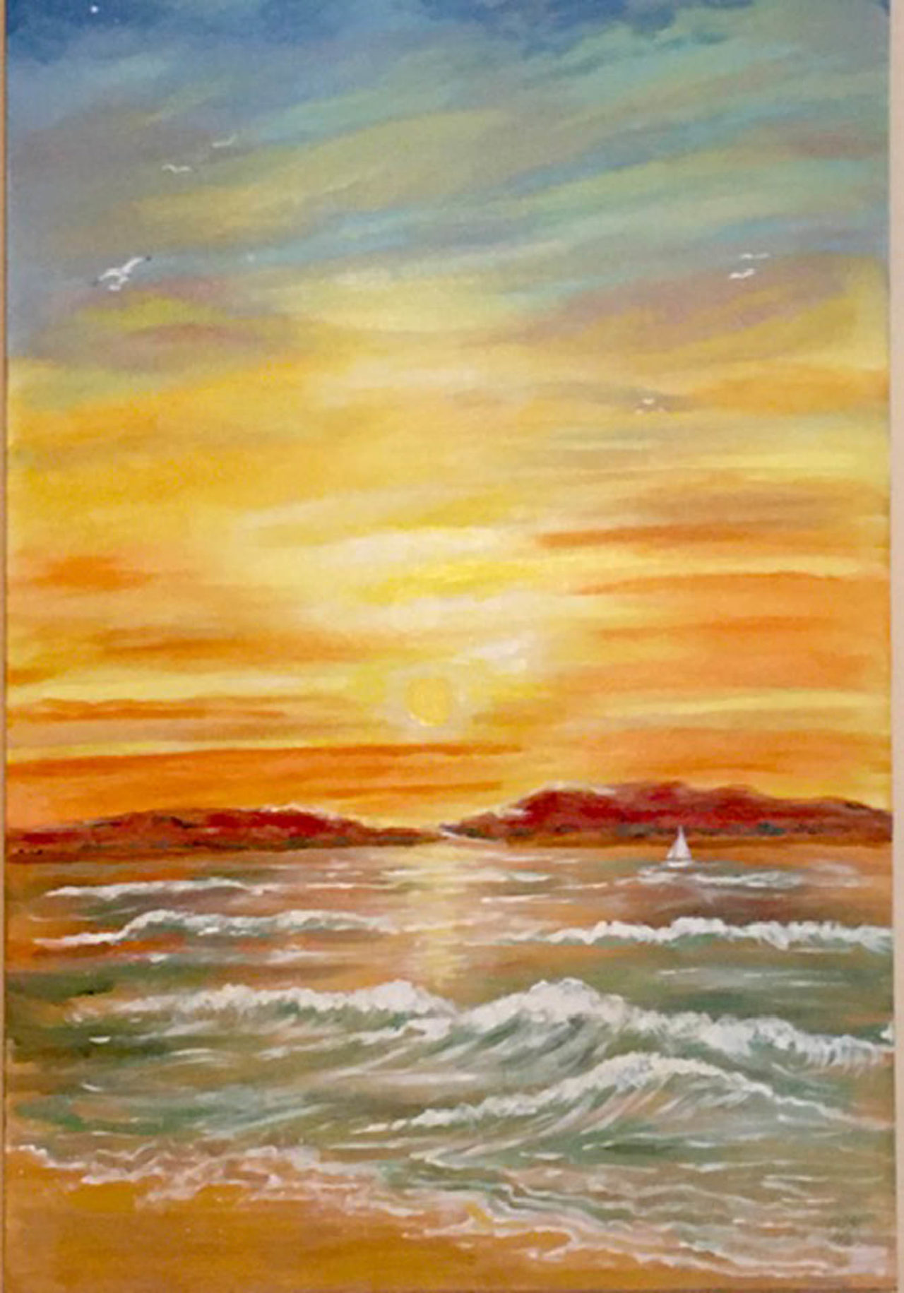 The Splendor of Sunset - Laura Gonzalez