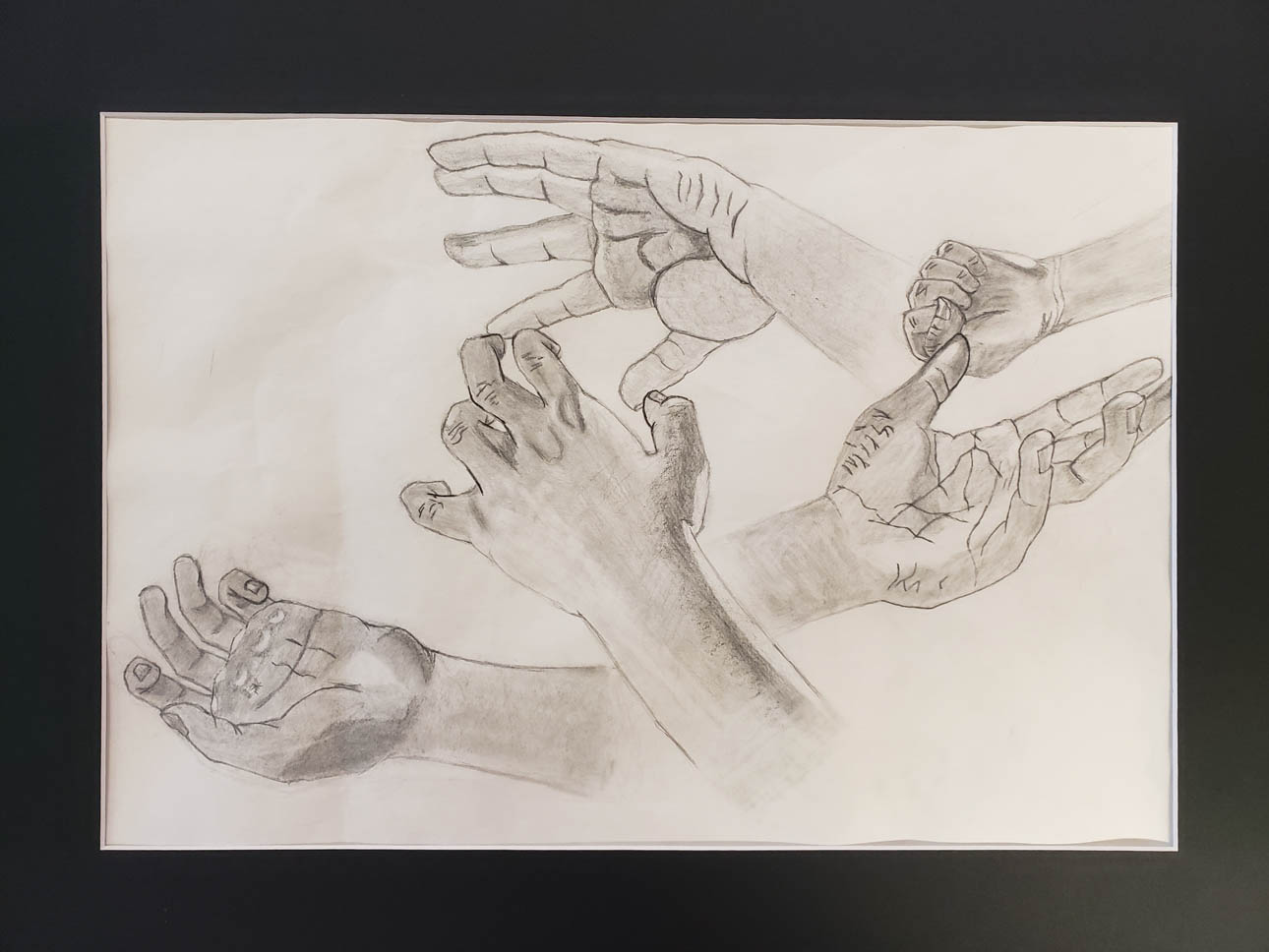 Hands, inspired by Perard