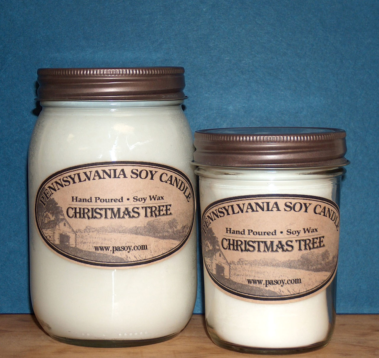 Pennsylvania-Soy-Candle-16oz-Mason-8oz-Jelly-Jar
