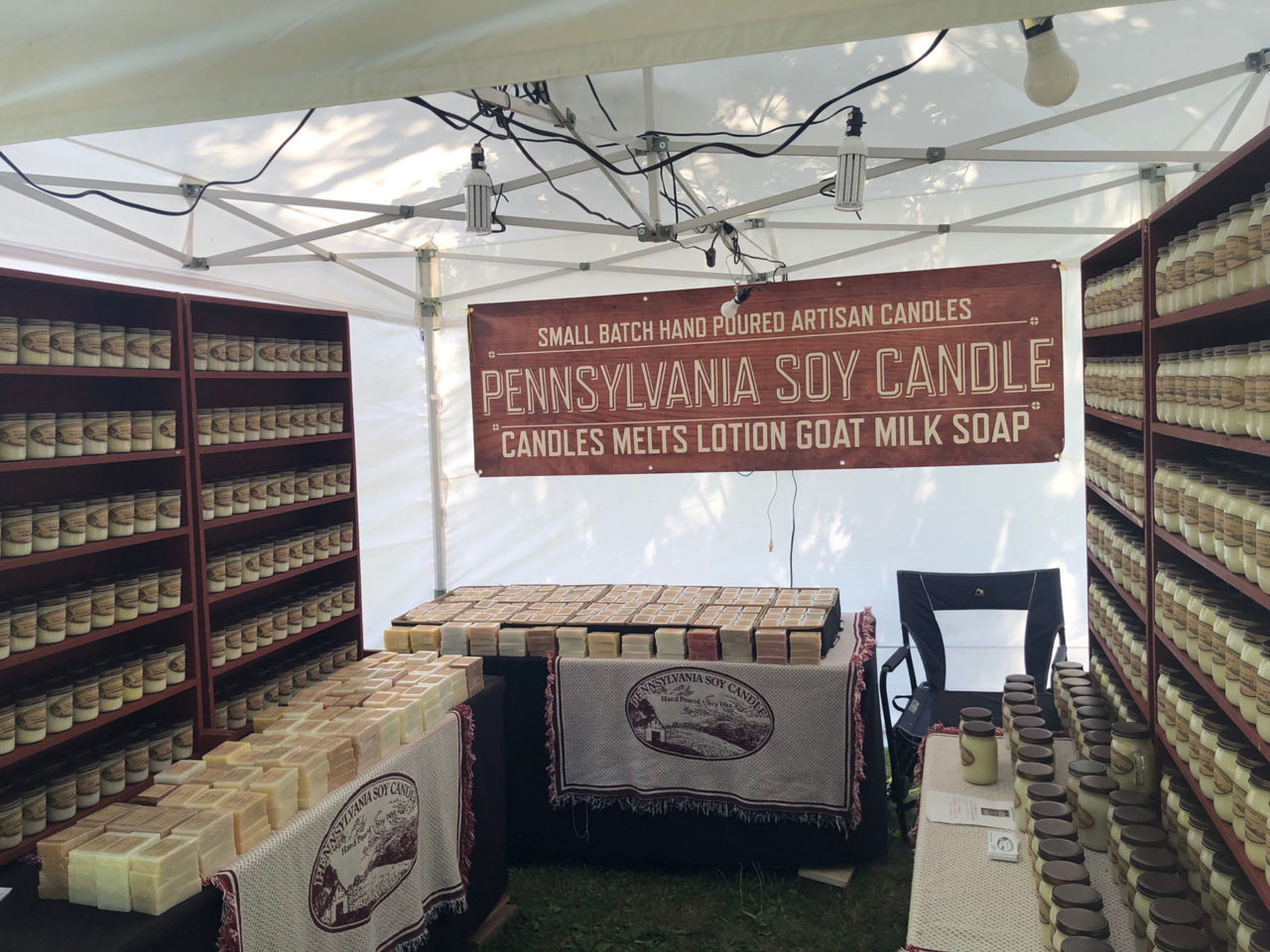 Pennsylvania-Soy-Candle-Booth