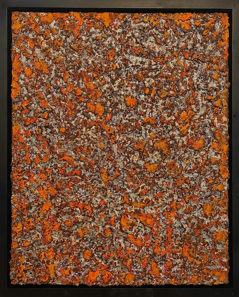 Rust Painting #14 - Washington