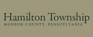 Hamilton Township Monroe County PA